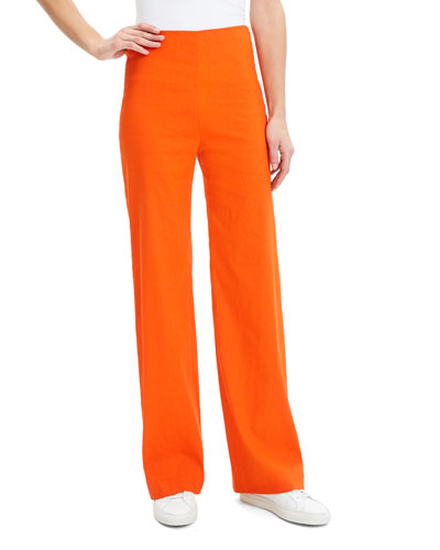 Clean Crunch Wash Wide-Leg Pants