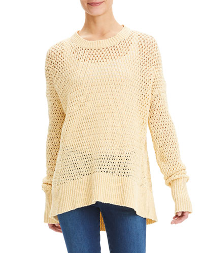 Karenia Sugahero High-Low Sweater