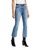 7 for all mankind High-Rise Slim Cropped Flare