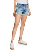 7 for all mankind High-Rise Vintage Cutoff Shorts