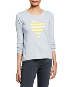Lisa Todd Petite Fool For Love Striped Heart