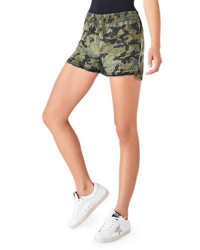Beach 86th Camo-Print Pull-On Shorts