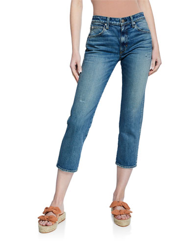 Syd Cropped Straight-Leg Jeans