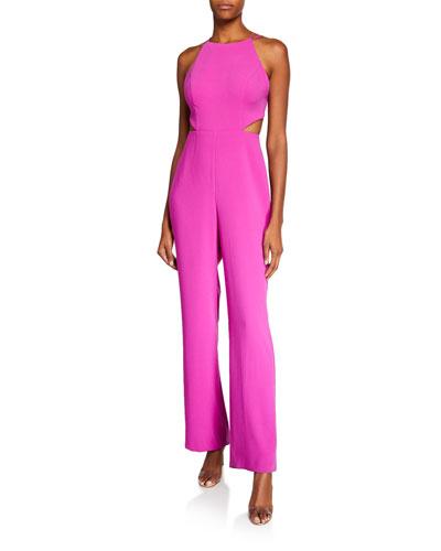 dc891e432468 Back Zip Jumpsuit