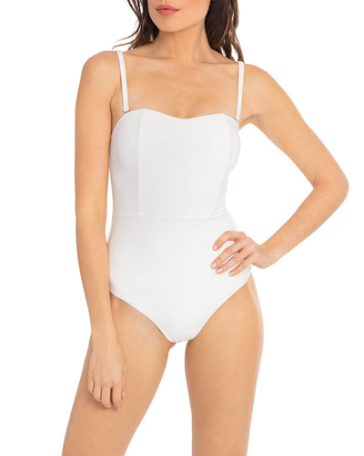Marilyn Structured One-Piece Swimsuit