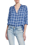 Frank & Eileen Plaid Long-Sleeve Button-Down Shirt