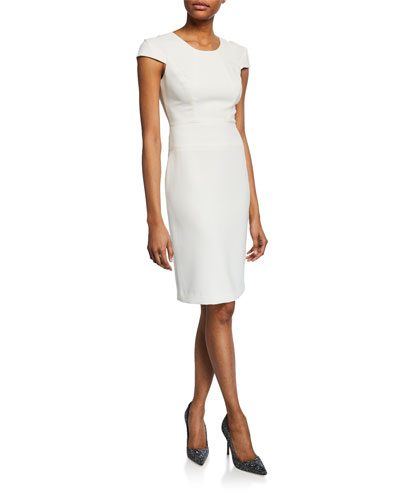 15695367c913 Straight Fitted Dress