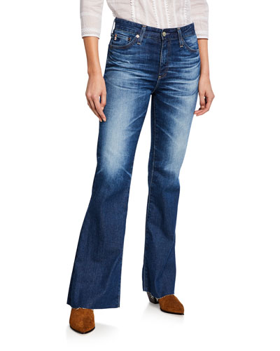 Quinne High-Rise Flare Jeans