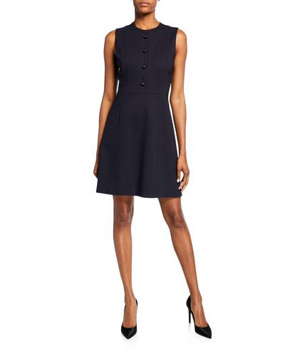 Louisa Sleeveless Fit-&-Flare Dress