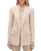 Lafayette 148 New York Langley Finesse Crepe Jacket