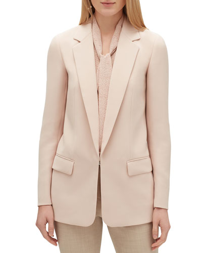 Langley Finesse Crepe Jacket
