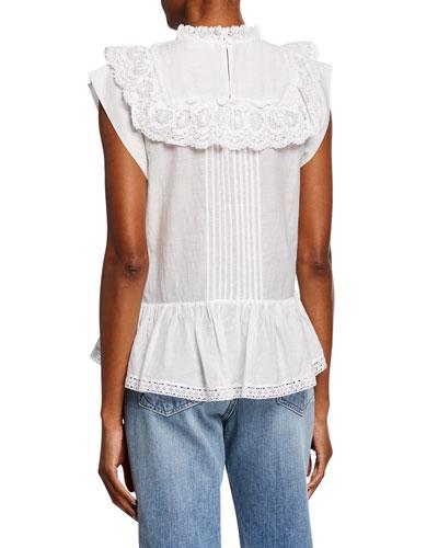 Toundra Cotton Ruffle Top