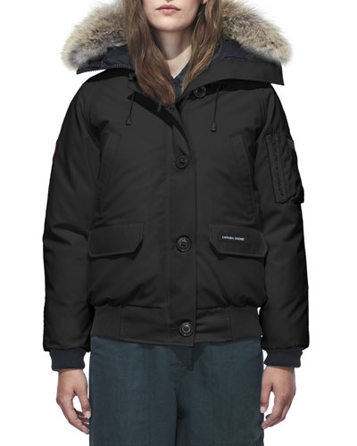 Chilliwack Down Bomber Jacket w/ Fur Hood