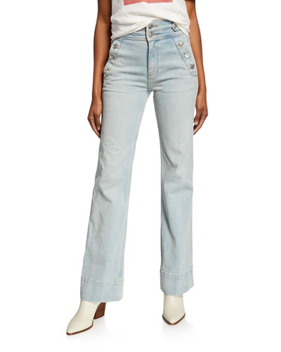 03acf1c82 Quick Look. Current/Elliott · The Maritime High-Rise Flared Jeans