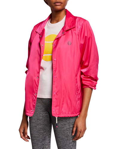 GoodSport Satin Warm-Up Jacket