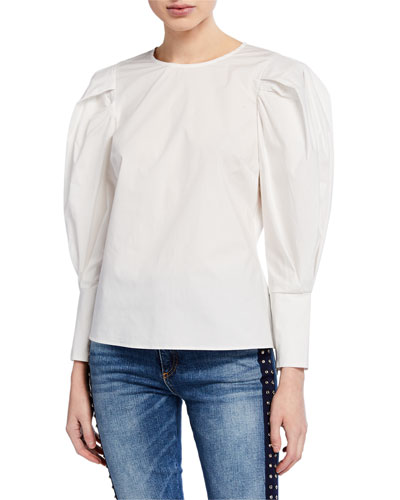 d10891babf8eb Quick Look. Rebecca Minkoff · Emile Puff-Sleeve Top