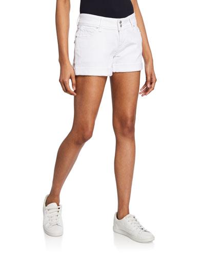 Croxley Mid-Rise Denim Shorts