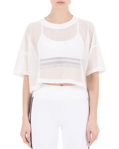 bcef468f8a3f13 White Short Sleeve Crop Top