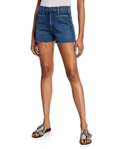 The Tomcat Patch Pocket Frayed Shorts