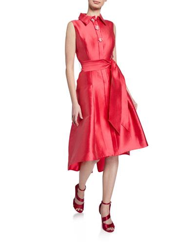 High Low Hem Shirt Dress  1894cb15c