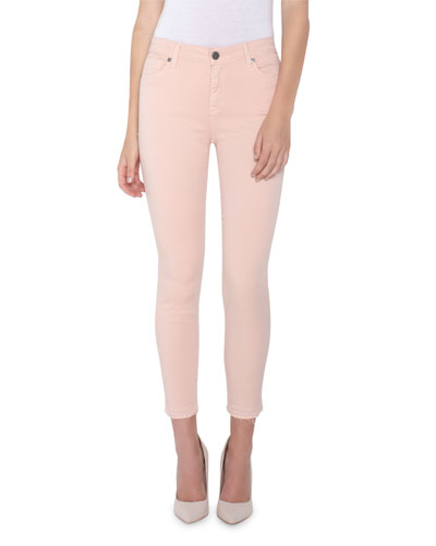 Vava Mid-Rise Crop Skinny Jeans