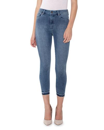 Bombshell Crop Skinny Jeans