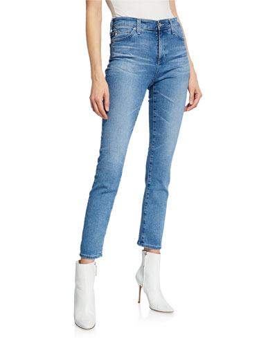 Mari High-Rise Straight Jeans