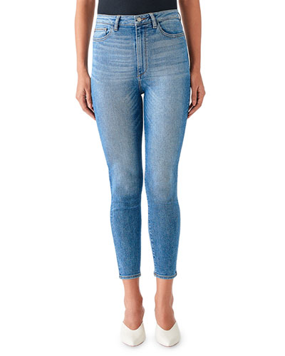 Chrissy Ultra High-Rise Skinny Jeans