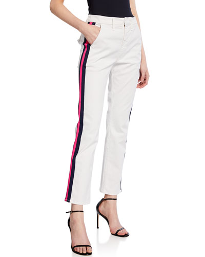 d225f5122163 Straight Fitted Ankle Pants
