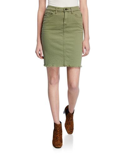 921891b012c Cotton Pencil Skirt