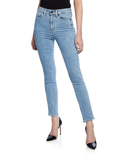 Margot High-Rise Ankle Peg Jeans