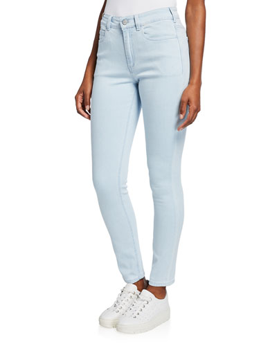 Bamboo Skinny Mid-Rise Jeans