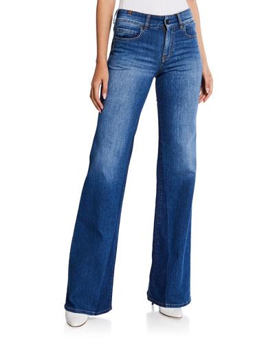 Dahlia High-Rise Boot-Cut Jeans