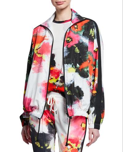 e255316da417b Long Sleeves Track Jacket | Neiman Marcus