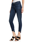 Black Orchid Miranda Wasted Time Off-Step Skinny Ankle