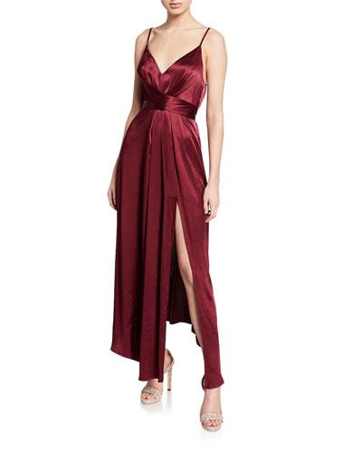77f7f1c5 Quick Look. Shona Joy · Gisele V-Neck Sleeveless Tie-Waist Dress