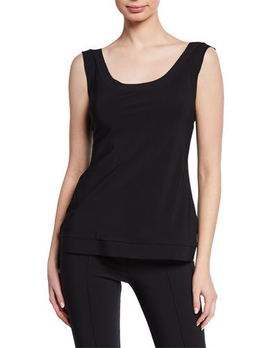 Akila Scoop-Neck Tank