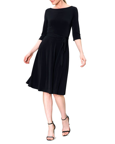 Ilana Jersey A-Line Dress