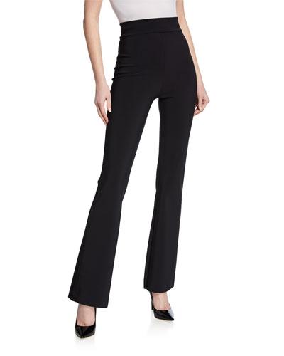 Venusette High-Waist Straight-Leg Pants