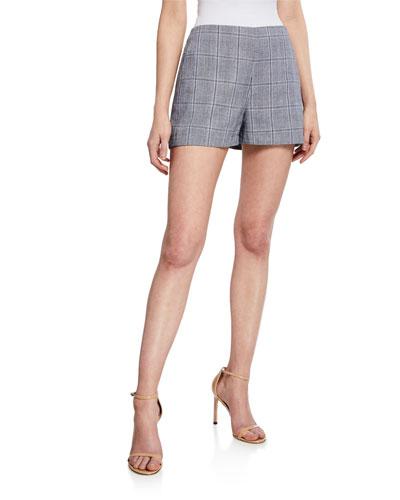 Vinson Plaid Shorts