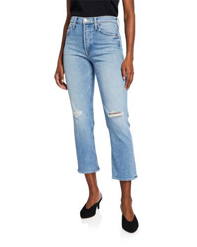 The Tomcat Distressed Straight-Leg Jeans