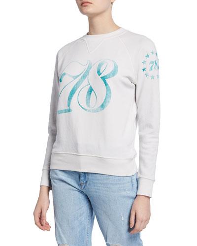 The Square 78 Printed Sweatshirt
