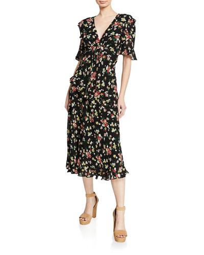 461baaef71ad5 Floral Print Shift Dress