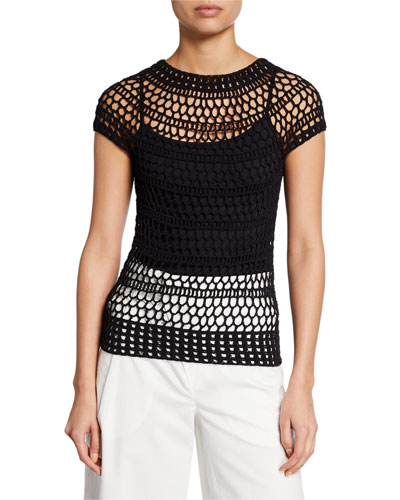 Tissage Crochet T-Shirt