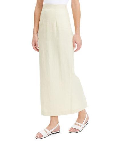 535547787d Quick Look. Theory · Long Linen Pencil Skirt