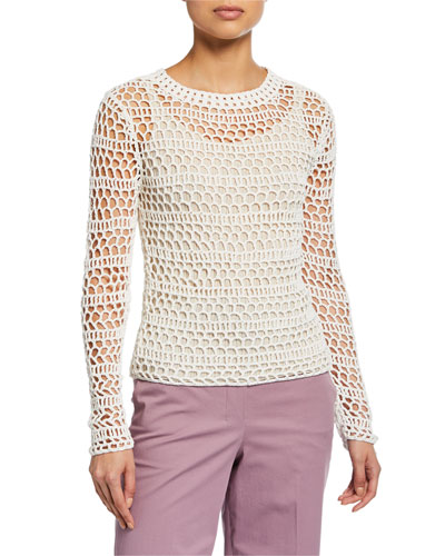 8513a82fcf Womens Crochet Top | Neiman Marcus
