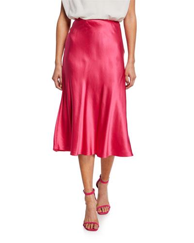 7d532539e922c2 A Line Skirt   Neiman Marcus