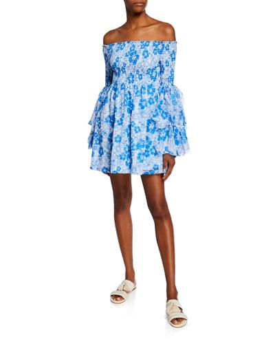22a1df87 Off-the-shoulder Dress   Neiman Marcus