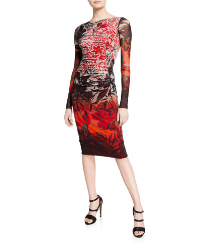 6527ef91 Straight Fitted Dress | Neiman Marcus