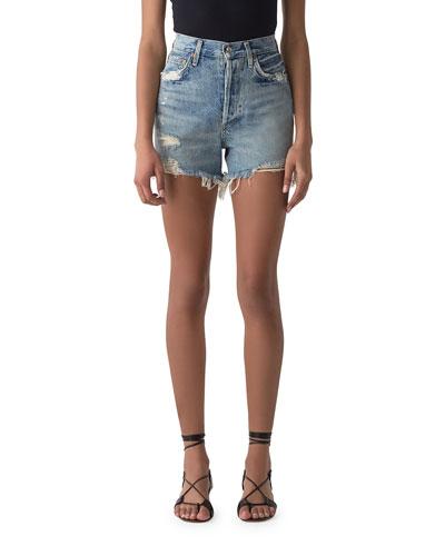 Dee Ultra High-Rise Cutoff Shorts